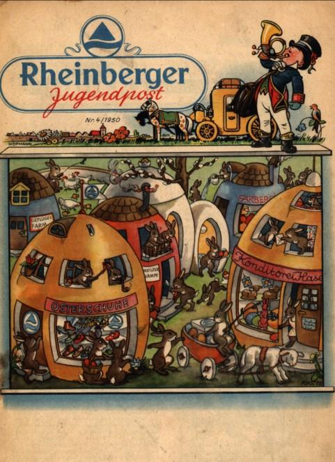 Rheinberger Jugendpost aus dem Jahr 1950